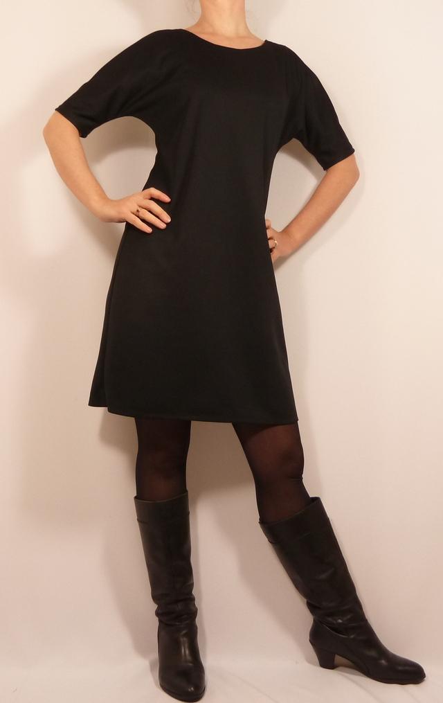 Patron burda petite robe noire