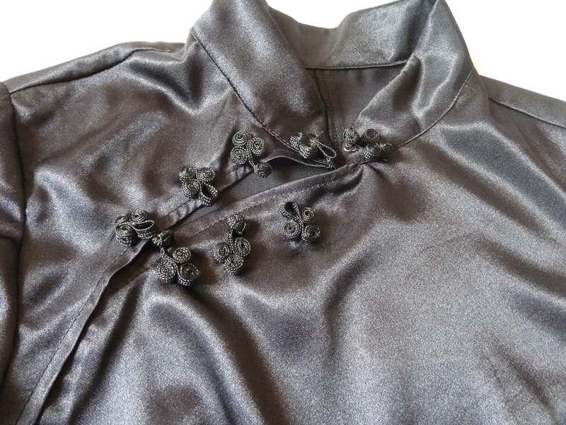 Patron robe chinoise col mao