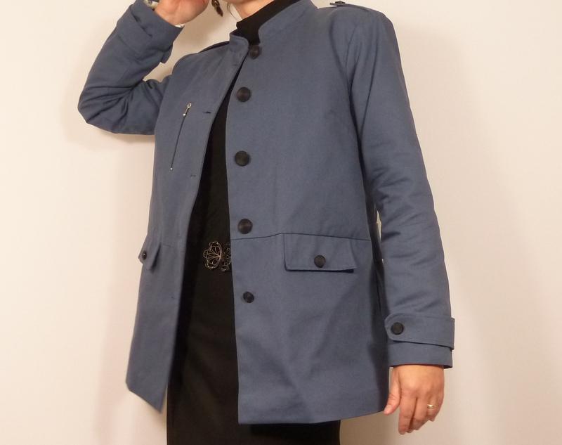 Patron veste femme col officier